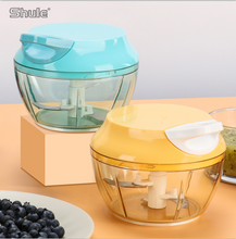 Household manual mini multi-function food processor / shredder